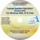 Toshiba Satellite P205-S6327 Drivers Recovery CD/DVD