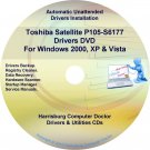 Toshiba Satellite P105-S6177 Drivers Recovery CD/DVD