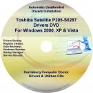 Toshiba Satellite P205-S6297 Drivers Recovery CD/DVD