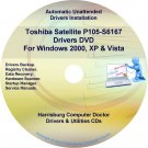 Toshiba Satellite P105-S6167 Drivers Recovery CD/DVD
