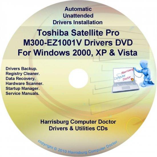 Toshiba Satellite Pro M300-EZ1001V Drivers CD/DVD