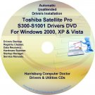 Toshiba Satellite Pro S300-S1001 Drivers CD/DVD
