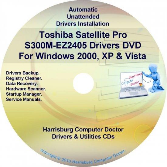 Toshiba Satellite Pro S300M-EZ2405 Drivers CD/DVD