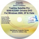 Toshiba Satellite Pro S300-EZ2501 Drivers CD/DVD