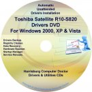 Toshiba Satellite R10-S820 Drivers Recovery CD/DVD