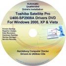 Toshiba Satellite Pro U400-SP2908A Drivers CD/DVD