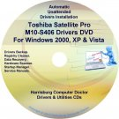 Toshiba Satellite Pro M10-S406 Drivers CD/DVD