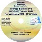 Toshiba Satellite Pro M10-S405 Drivers CD/DVD