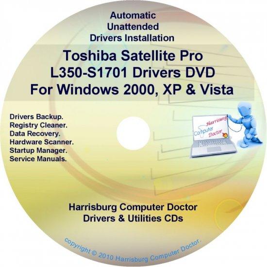 Toshiba Satellite Pro L350-S1701 Drivers CD/DVD