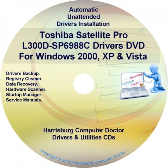 Toshiba Satellite Pro L300D-SP6988C Drivers CD/DVD