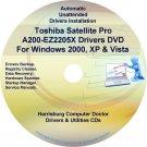 Toshiba Satellite Pro A200-EZ2205X Drivers CD/DVD
