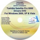 Toshiba Satellite Pro 6000 Drivers Recovery CD/DVD