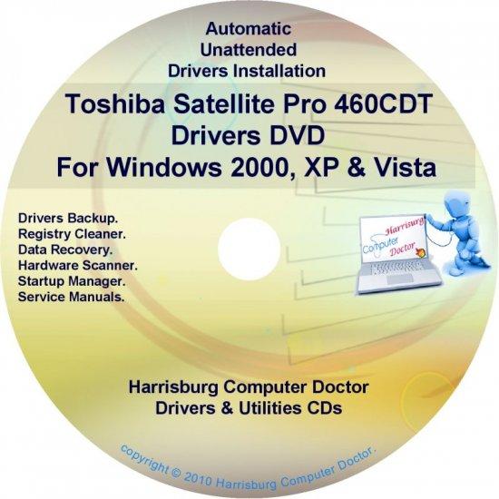 Toshiba Satellite Pro 460CDT Drivers Recovery CD/DVD