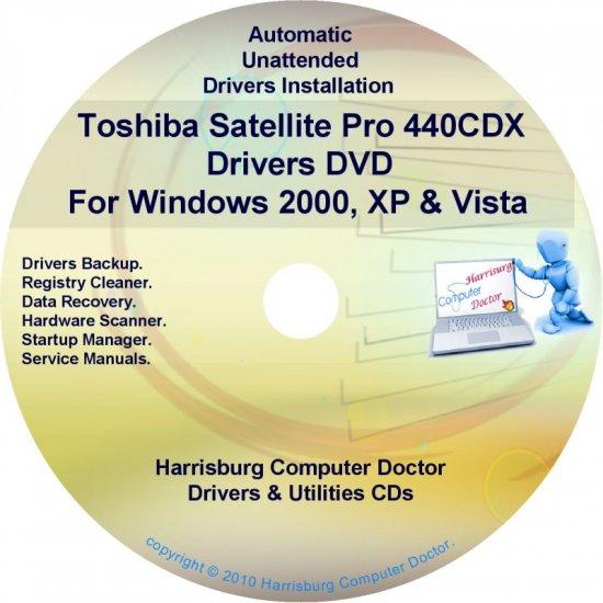 Toshiba Satellite Pro 440CDX Drivers Recovery CD/DVD