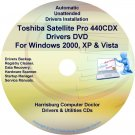 Toshiba Satellite Pro 440CDX Drivers Recovery CD/DVD