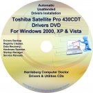 Toshiba Satellite Pro 430CDT Drivers Recovery CD/DVD