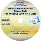 Toshiba Satellite Pro 4280X Drivers Recovery CD/DVD
