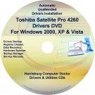Toshiba Satellite Pro 4260 Drivers Recovery CD/DVD
