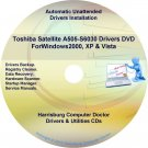 Toshiba Satellite A505-S6030  Drivers Recovery CD/DVD