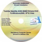 Toshiba Satellite  A355-S6882 Drivers Recovery CD/DVD