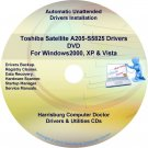 Toshiba Satellite  A205-S5825 Drivers Recovery CD/DVD