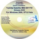 Toshiba Satellite M60-S811TD Drivers Recovery CD/DVD