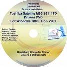 Toshiba Satellite M60-S6111TD Drivers CD/DVD