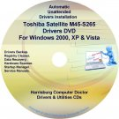 Toshiba Satellite M45-S265 Drivers Recovery CD/DVD