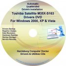 Toshiba Satellite M35X-S163 Drivers Recovery CD/DVD