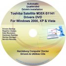 Toshiba Satellite M35X-S1141 Drivers Recovery CD/DVD