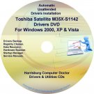 Toshiba Satellite M35X-S1142 Drivers Recovery CD/DVD