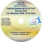 Toshiba Satellite M110-ST1161 Drivers Recovery CD/DVD
