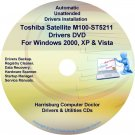 Toshiba Satellite M100-ST5211 Drivers Recovery CD/DVD