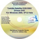 Toshiba Satellite 5105-S502 Drivers Recovery CD/DVD
