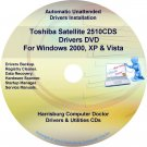 Toshiba Satellite 2510CDS Drivers Recovery CD/DVD