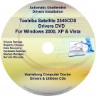 Toshiba Satellite 2540CDS Drivers Recovery CD/DVD