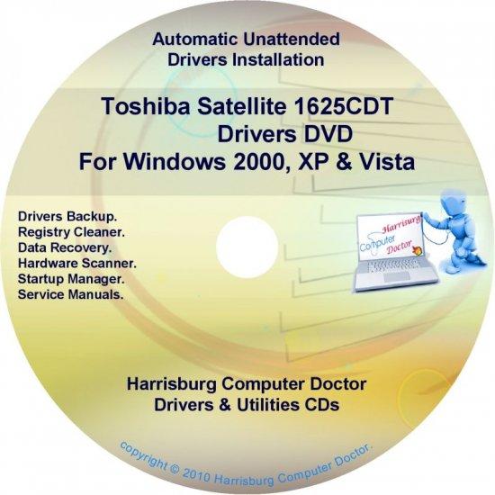 Toshiba Satellite 1625CDT Drivers Recovery CD/DVD