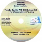 Toshiba Satellite A15-S128 Drivers Recovery CD/DVD