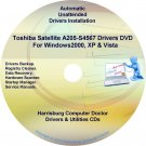 Toshiba Satellite A205-S4567 Drivers Recovery CD/DVD