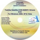 Toshiba Satellite A105-S45472 Drivers Recovery CD/DVD