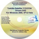 Toshiba Satellite 1115-S104  Drivers Recovery Restore