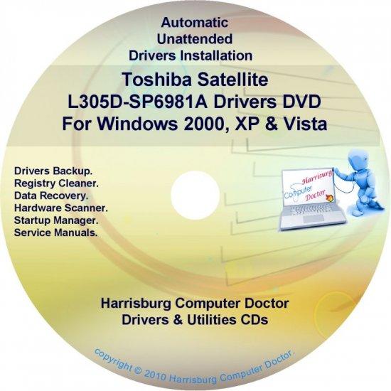Toshiba Satellite L305D-SP6981A Drivers CD/DVD
