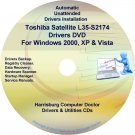 Toshiba Satellite L35-S2174 Drivers Recovery CD/DVD