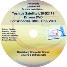 Toshiba Satellite L35-S2171 Drivers Recovery CD/DVD