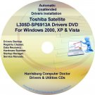 Toshiba Satellite L305D-SP6913A Drivers CD/DVD