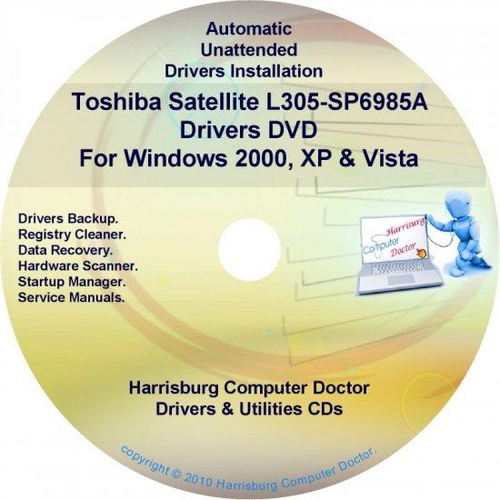 Toshiba Satellite L305-SP6985A Drivers CD/DVD