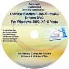 Toshiba Satellite L305-SP6944C Drivers CD/DVD