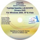 Toshiba Satellite L20-S310TD Drivers Recovery CD/DVD