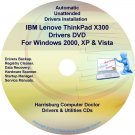 IBM Lenovo ThinkPad X300 Drivers Recovery Disc CD/DVD