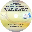 IBM Lenovo ThinkPad T410 Driver Recovery Disc CD/DVD